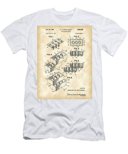 Lego Patent 1958 - Vintage Men's T-Shirt (Athletic Fit)