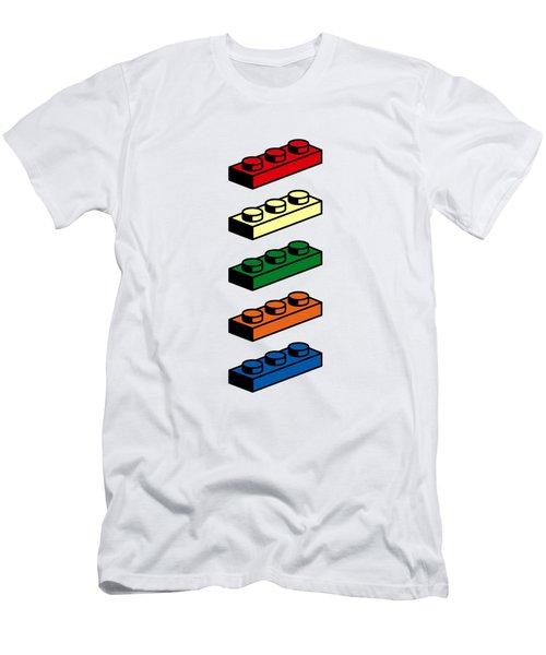 Lego T-shirt Pop Art Men's T-Shirt (Athletic Fit)