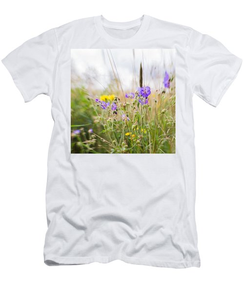 #lensbaby #composerpro #sweet35 #floral Men's T-Shirt (Athletic Fit)