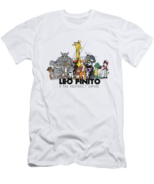 Leo Finito And The Abstract Safari Men's T-Shirt (Athletic Fit)