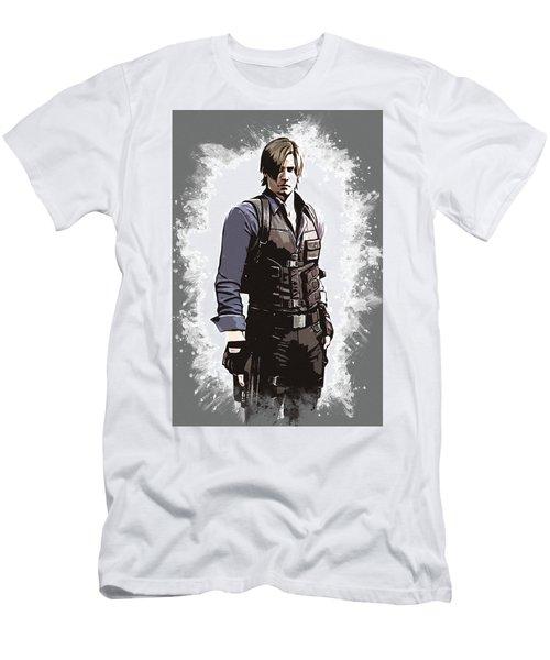 Leon S. Kennedy Men's T-Shirt (Athletic Fit)