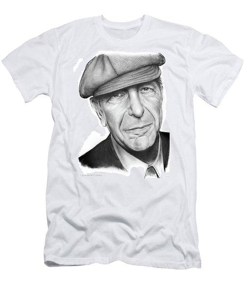 Leonard Cohen Men's T-Shirt (Athletic Fit)