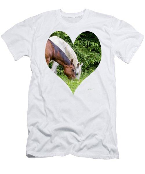 Let's Eat Out Men's T-Shirt (Athletic Fit)