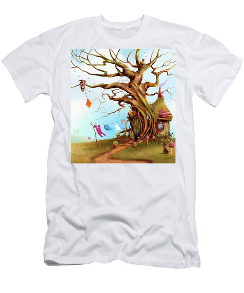 Let's Go Fly A Kite Men's T-Shirt (Athletic Fit)