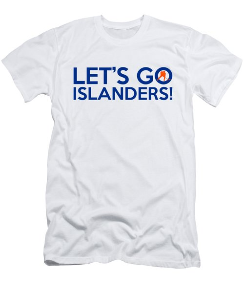 Let's Go Islanders Men's T-Shirt (Slim Fit) by Florian Rodarte