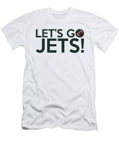 Let's Go Jets Men's T-Shirt (Athletic Fit)