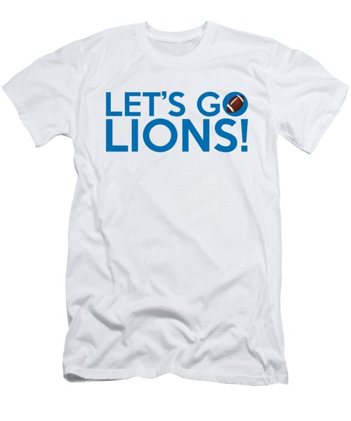 Let's Go Lions Men's T-Shirt (Athletic Fit)