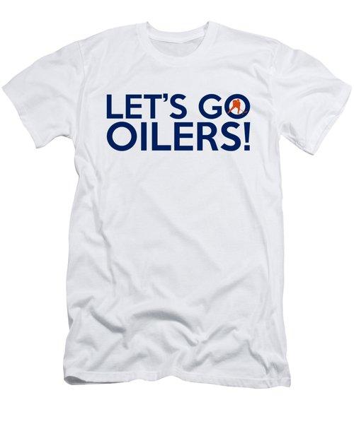 f70332a8d Let s Go Oilers Men s T-Shirt (Athletic Fit)