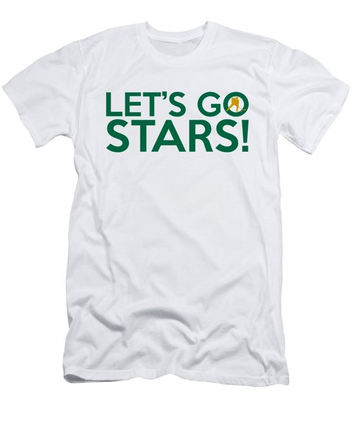 Let's Go Stars Men's T-Shirt (Slim Fit) by Florian Rodarte