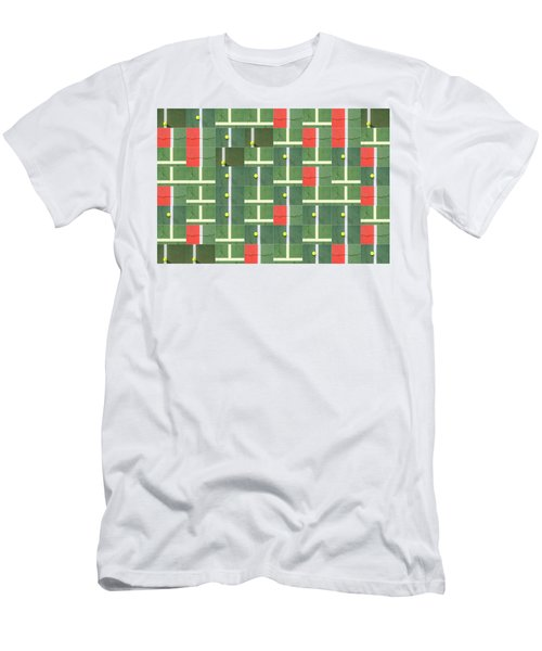 Let's Play Some Tennis Men's T-Shirt (Athletic Fit)