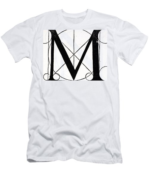 Letter M Men's T-Shirt (Athletic Fit)