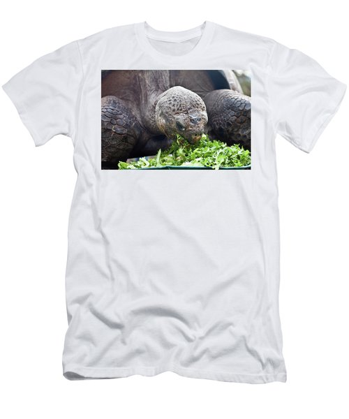 Men's T-Shirt (Athletic Fit) featuring the photograph Lettuce Makes You Strong by Miroslava Jurcik