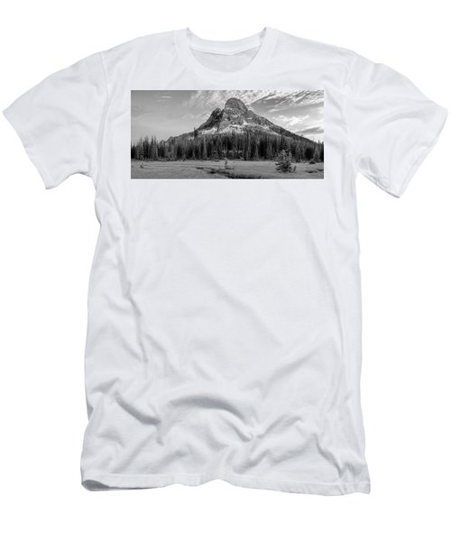 Liberty Mountain At Sunset Men's T-Shirt (Athletic Fit)