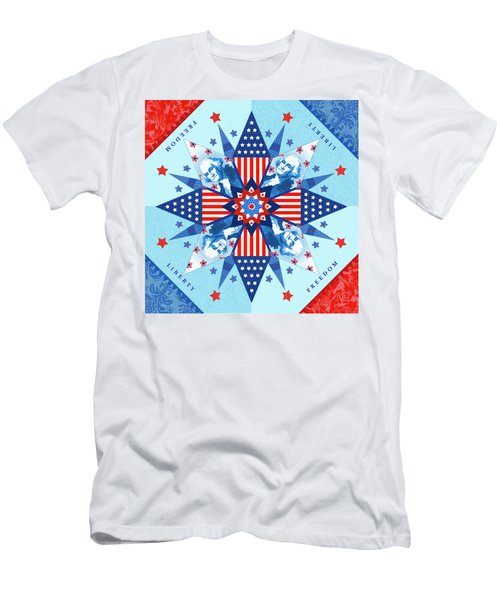 Liberty Quilt Men's T-Shirt (Athletic Fit)