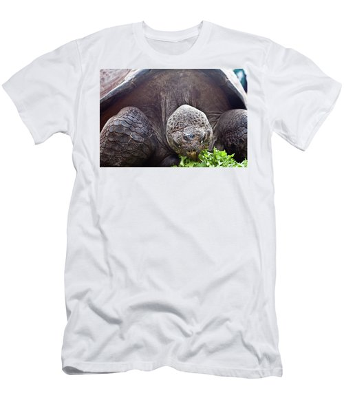 Men's T-Shirt (Athletic Fit) featuring the photograph Life Begins At 60 For Vegetarian by Miroslava Jurcik