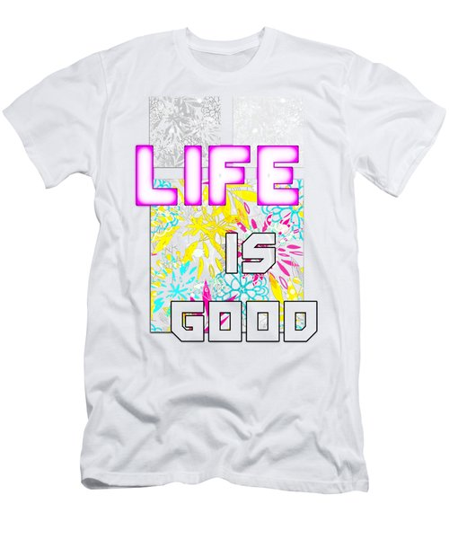 Life Is A Gift Men's T-Shirt (Athletic Fit)