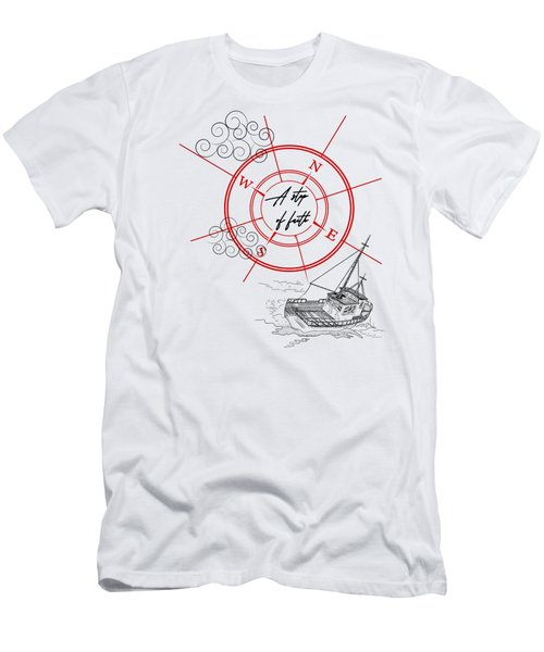 Life Is A Great Adventure Men's T-Shirt (Athletic Fit)