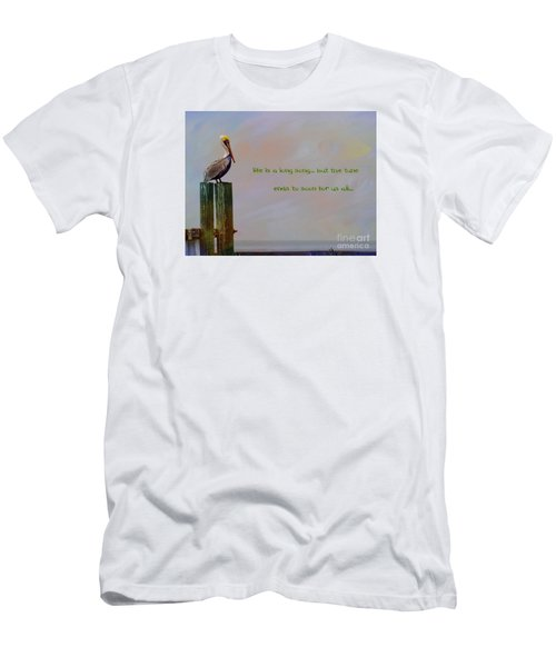 Life Is A Long Song Men's T-Shirt (Athletic Fit)
