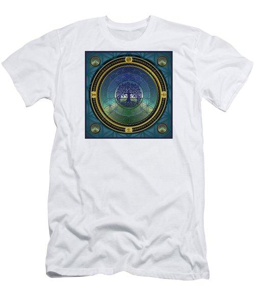 Life Mandala Men's T-Shirt (Athletic Fit)