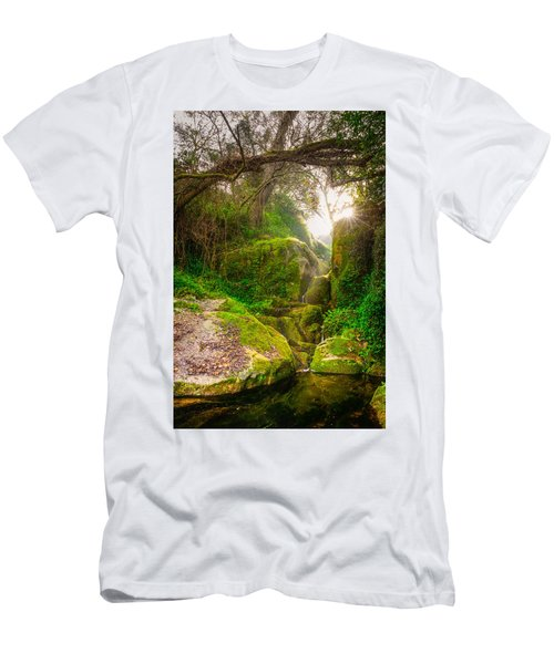 Light And Magic II Men's T-Shirt (Athletic Fit)