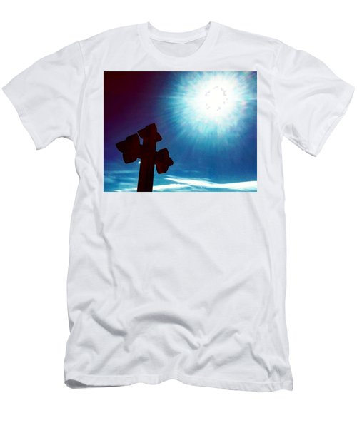 Light And Shadow Clash Men's T-Shirt (Athletic Fit)