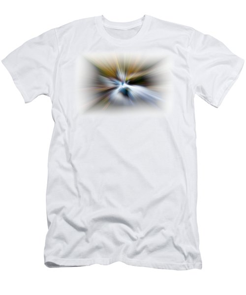 Men's T-Shirt (Slim Fit) featuring the photograph Light Angels by Debra and Dave Vanderlaan