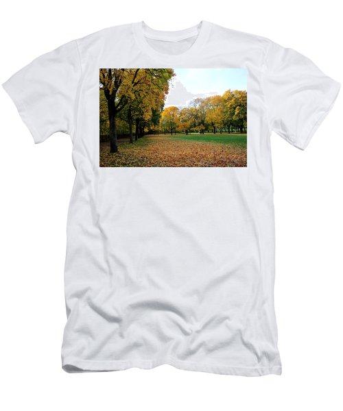 Light Blue Sky  Men's T-Shirt (Athletic Fit)
