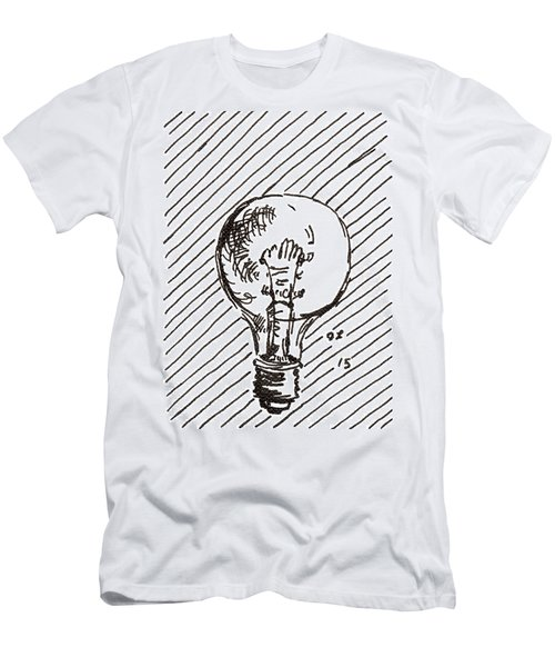 Light Bulb 1 2015 - Aceo Men's T-Shirt (Athletic Fit)