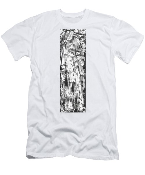Men's T-Shirt (Slim Fit) featuring the painting Light by Carol Rashawnna Williams