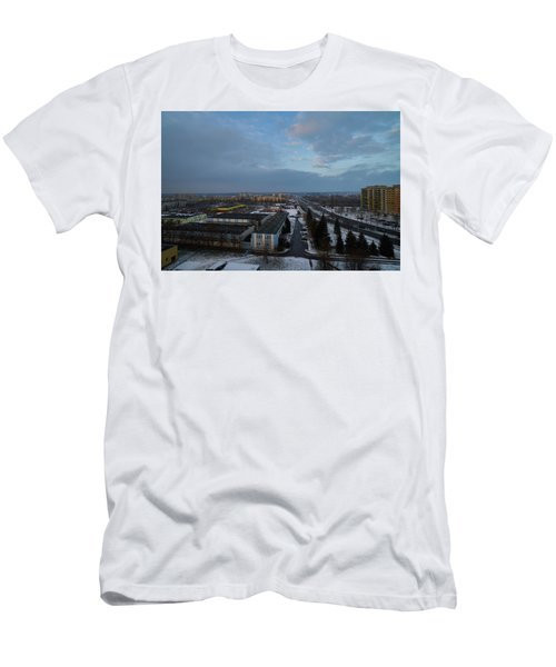 Men's T-Shirt (Athletic Fit) featuring the photograph Light by Tgchan