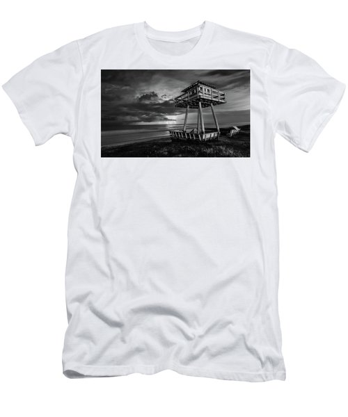 Lightning Watch Tower Men's T-Shirt (Athletic Fit)