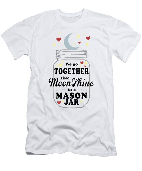 Like Moonshine In A Mason Jar Men's T-Shirt (Athletic Fit)