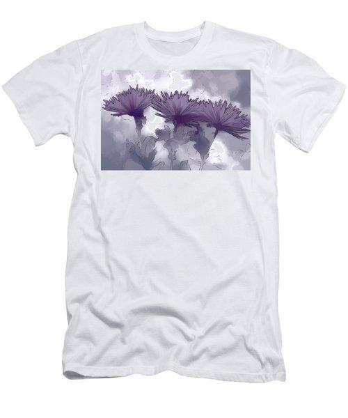 Lilac Fancy Men's T-Shirt (Athletic Fit)