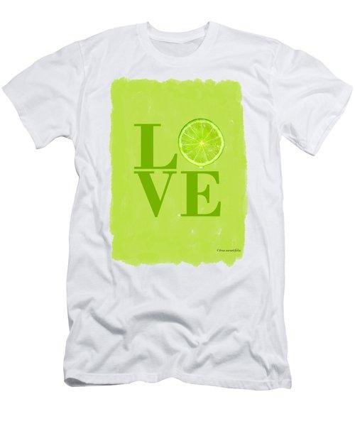 Lime Men's T-Shirt (Athletic Fit)