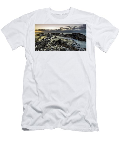 Lines Of Time Men's T-Shirt (Athletic Fit)