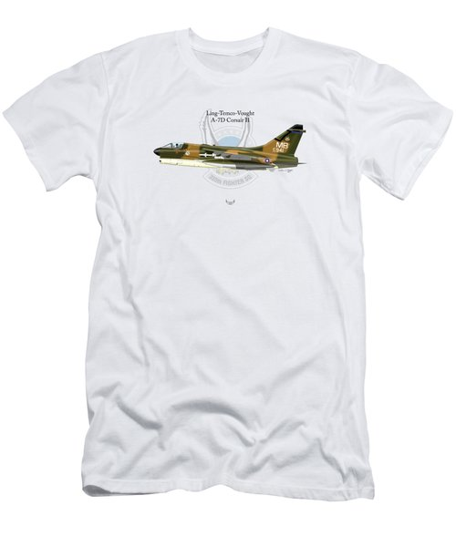 Ling-temco-vaught A-7d Corsair Men's T-Shirt (Athletic Fit)