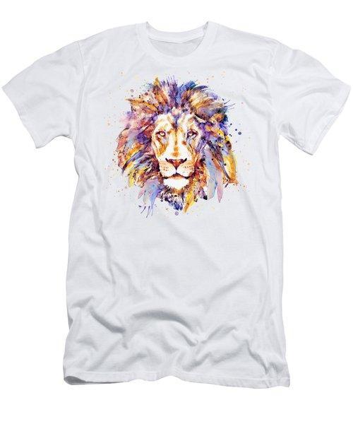 Lion Head Men's T-Shirt (Slim Fit)