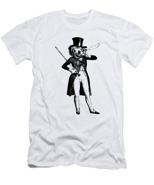 Lion King Grandville Transparent Background Men's T-Shirt (Athletic Fit)