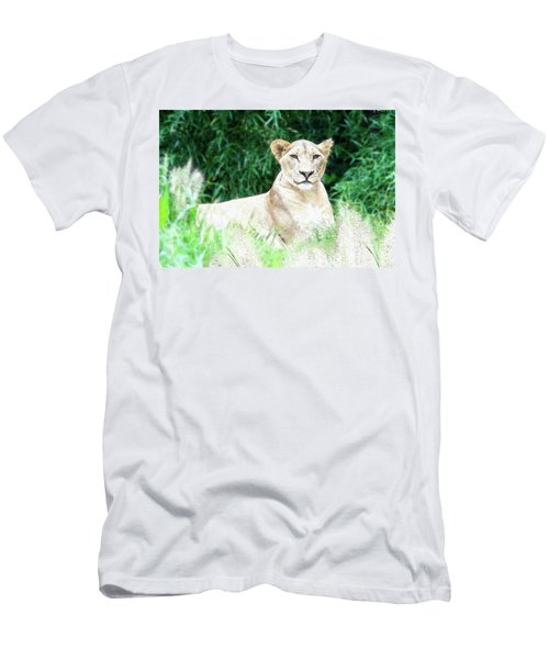 Lioness Men's T-Shirt (Athletic Fit)