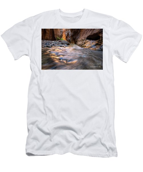 Liquid Gold Utah Adventure Landscape Photography By Kaylyn Franks Men's T-Shirt (Athletic Fit)