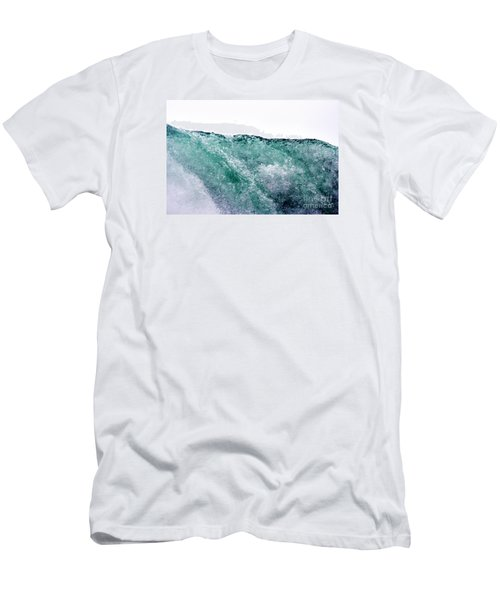 Men's T-Shirt (Slim Fit) featuring the photograph Liquid Horizon by Dana DiPasquale