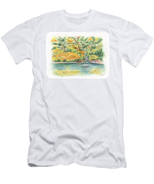 Lithia Park Reflections Men's T-Shirt (Athletic Fit)