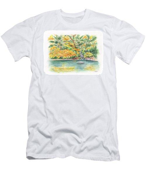 Lithia Park Reflections Men's T-Shirt (Athletic Fit)