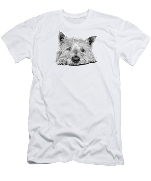 Little Dog Men's T-Shirt (Athletic Fit)
