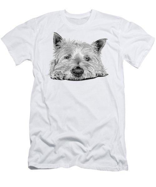 Little Dog Men's T-Shirt (Athletic Fit)