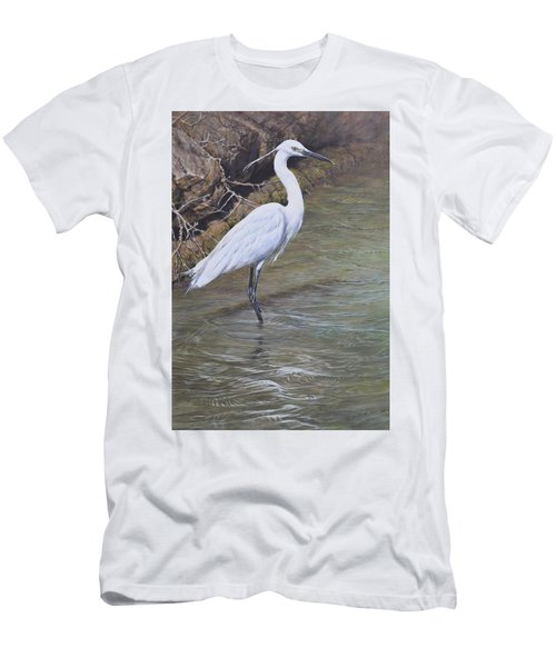Little Egret Men's T-Shirt (Athletic Fit)