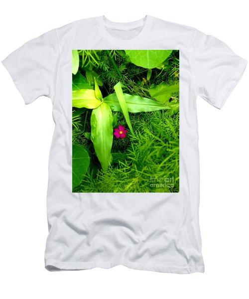 Little Flower Men's T-Shirt (Athletic Fit)