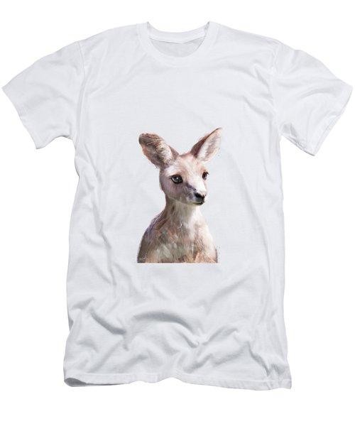 Little Kangaroo Men's T-Shirt (Athletic Fit)