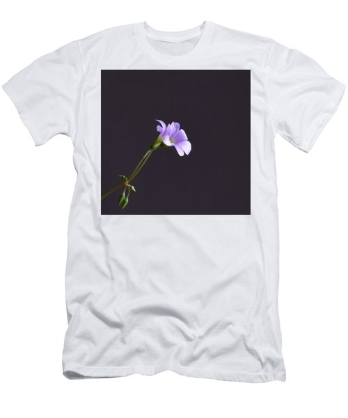 Little Lavender Flowers Men's T-Shirt (Slim Fit) by Kathy Eickenberg