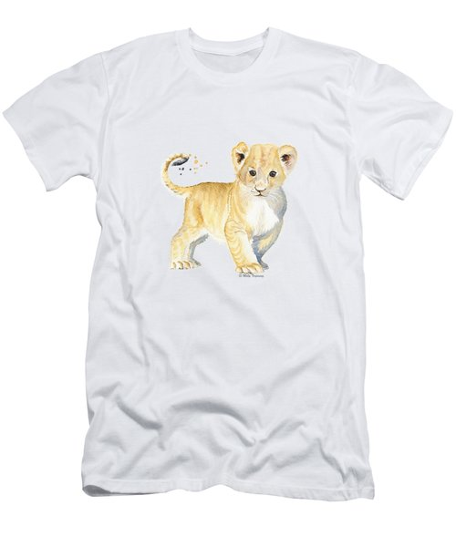 Little Lion Men's T-Shirt (Athletic Fit)